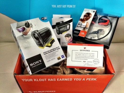 Awesome Klout Perks from Sony
