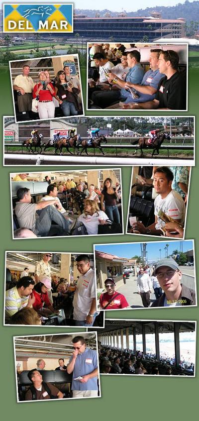 Del Mar Race Track - Horse Racing